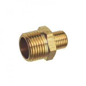 Reductie furtun compresor filet exterior 1/2 , filet exterior 1/4, alama, Pansam