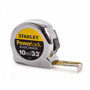 Ruleta PowerLock cu carcasa ABS 10m Stanley