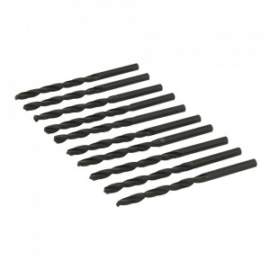 Set 10 burgie metal, heavy-duty, 6mm, Silverline