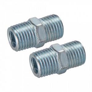 Set 2 racorduri prelungire , compresor, 1/4, Silverline