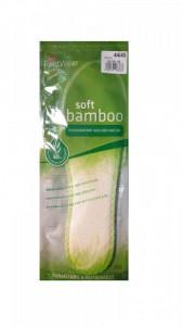 Set 2 talpici fibra bambus 60%, ecologice, anti-miros, anti- transpiratie, marimea 36/37, Wenco