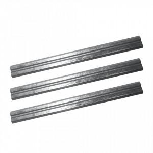 "Set 3 cutite rezerva rindea electrica tri-blade, 180mm, 7"", Triton"