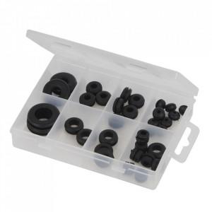 Set 35 garnituri cauciuc de trecere, 2.5 x 10.5 x 6.5 ,16 x 29 x 7.5mm, Fixman