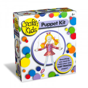 Set papusa printesa Crafty Kids
