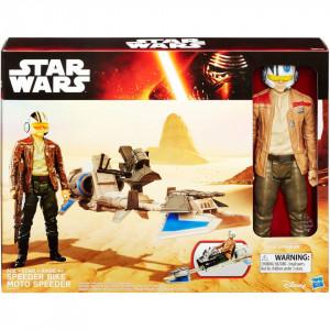 Star Wars Speeder Bike figurine , dimensiune 12 inch , 6-9 ani
