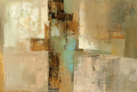 Fototapet, Un perete abstract în tonuri de culoare brună 2