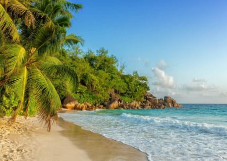 Fototapet, Ziua înorită pe plajă