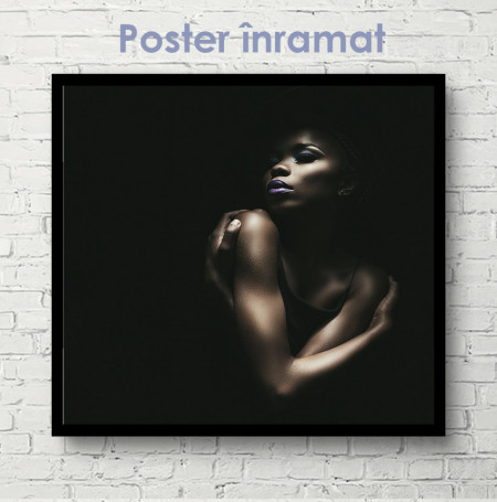 Poster, Fată glamour 1