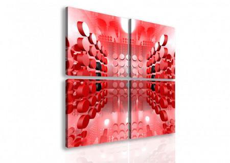 Tablou modular, Coridorul roșu.