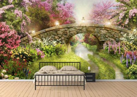 Fototapet, Parcul roz