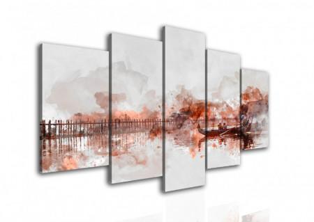 Multicanvas, Peisajul abstract.