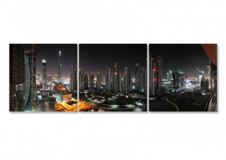 Tablou modular, Orașul în noapte.