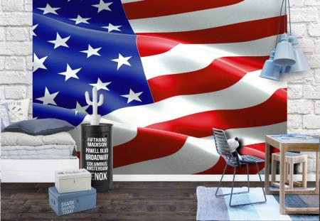 Fototapet, Steagul Americii