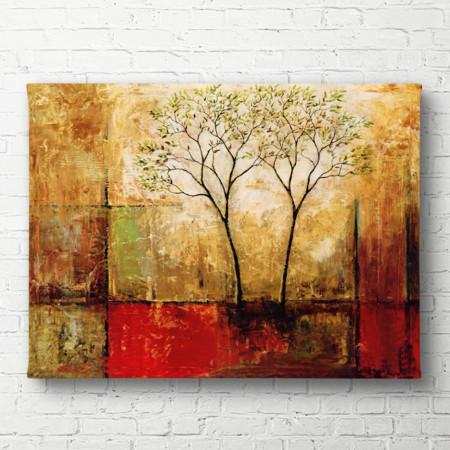 Poster, Peisajul abstract de toamnă