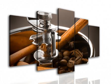 Multicanvas, Mașina de tocat cafea.