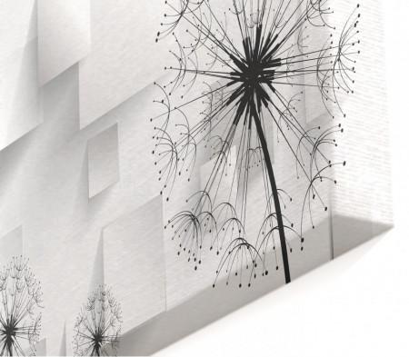 Tablou modular, Păpădie abstractă.
