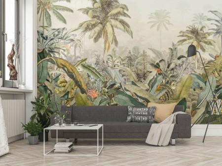 Fototapet, O pădure tropicală