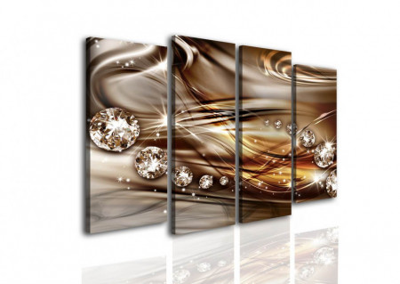 Multicanvas, Abstracție de cicolată.