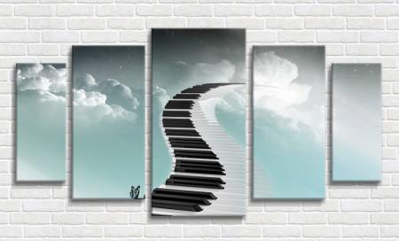 Multicanvas, Drumul muzicii