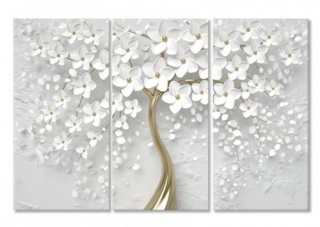 Tablou modular, Arbore alb