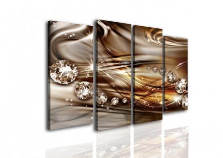 Tablou modular, Fantezie de cicolată.