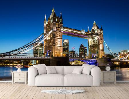 Fototapet, Podul frumos al Londrei