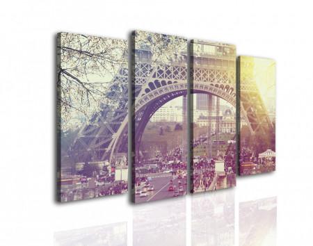 Multicanvas, Răsăritul în Paris