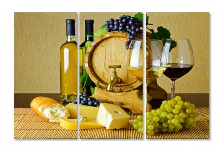 Multicanvas, Vinul și cașcavalul.