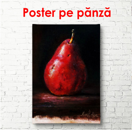 Poster, Pară roșie