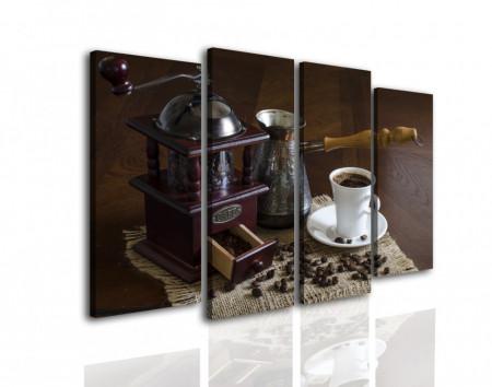 Tablou modular, Cafea cu ciocolată.