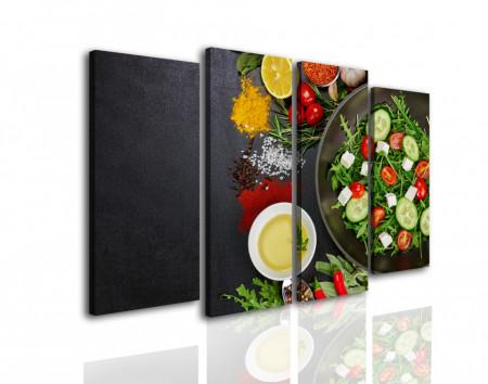 Tablou modular, Salată sănătoasă