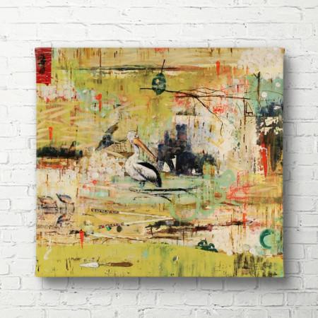 Tablouri Canvas, Abstracția verde