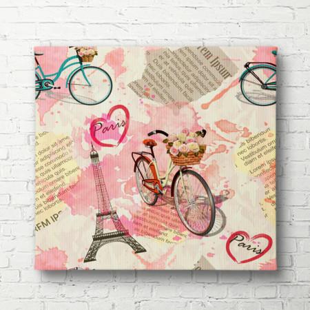 Tablouri Canvas, Provence în culoarea roz