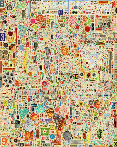 Fototapet Abstract, în lumea copiilor