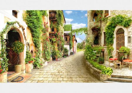 Fototapet, Orașul vechi din Italia