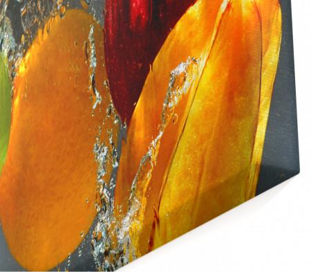 Tablou modular, Fructe în apă.