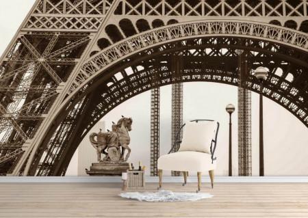 Fototapet, Frumusețea Turnului Eiffel