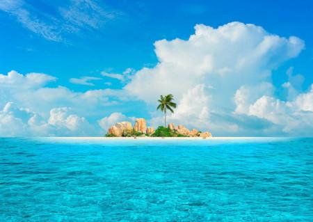 Fototapet, Insula mică