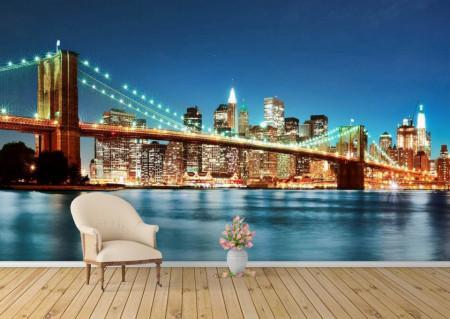 Fototapet, New Yorkul în culori vii