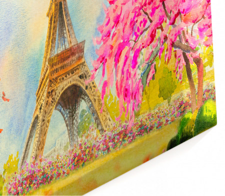 Multicanvas, O dimineață frumoasă în Paris.