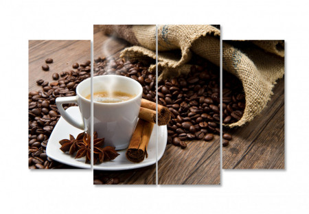 Multicanvas, Un rai de cafea