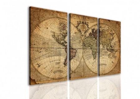 Tablou modular, O hartă veche.