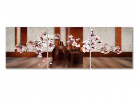 Multicanvas, Sakura roz în vază.