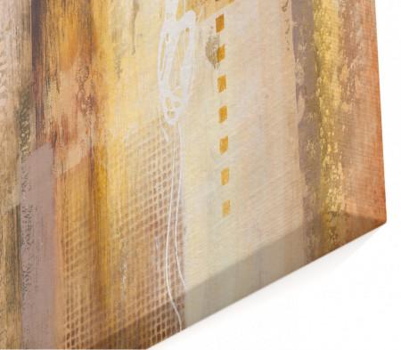 Tablou modular, Fantezie de aur.
