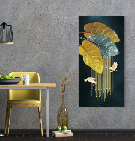 Tablou, Răpuri de ploaie