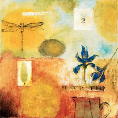 Tablouri Canvas, Compoziția abstractă galbenă