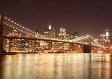 Fototapet, Orașul nocturn
