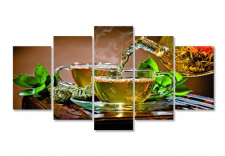 Tablou modular, Ceaiul verde