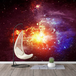 Fototapet, Explozia supernovei