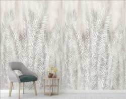 Fototapet, Frunze de palmieri surii